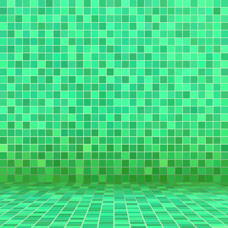 ceramic: Verde mosaico de baldosas de cer�mica en la piscina