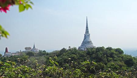 wang: Temple on mountain at Khao Wang, Thailand Editorial
