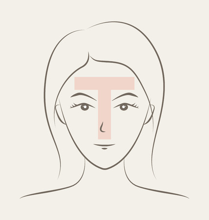 has: T-Zone area has sebaceous glands than any other location