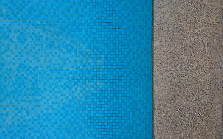 Swimming pool and deck with for background