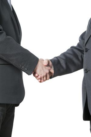 handshake, oba muži si podali ruce Reklamní fotografie - 33048820