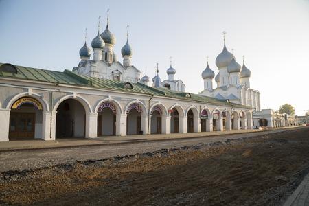 kostel katedrála Rostov Great Ruska obchodování série Reklamní fotografie - 33048905