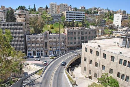 Cityscape of Amman city in Jordan
