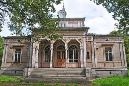 Old building of the City Hall, Sortavala, Karelia 版權商用圖片