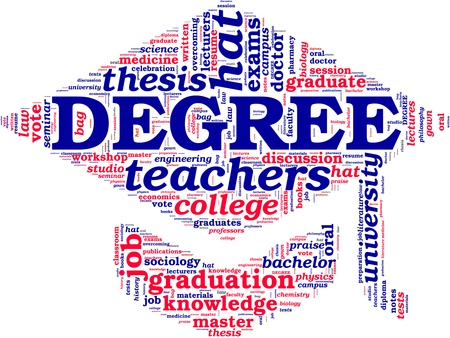 doctorate: doctorate hat tag cloud