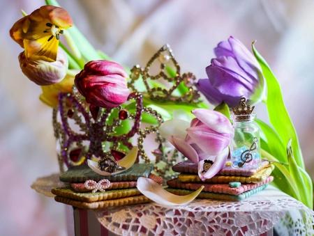 wish: Rainbow cookies spring magic