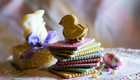wish: Rainbow cookies easter celebration