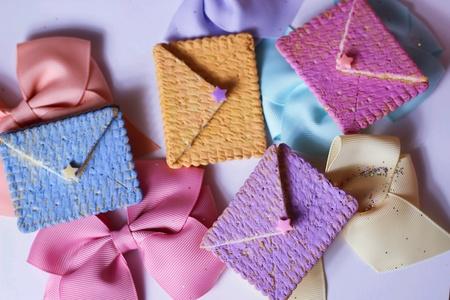 seasonal: Greeting mail colorful seasonal