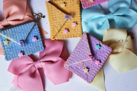 seasonal: Greeting mail colorful seasonal love