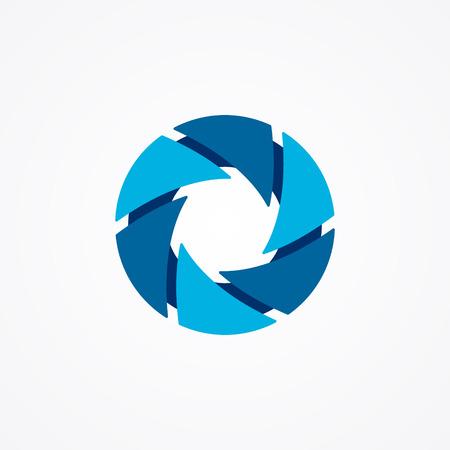 Vector logo design element met visitekaartje sjabloon.