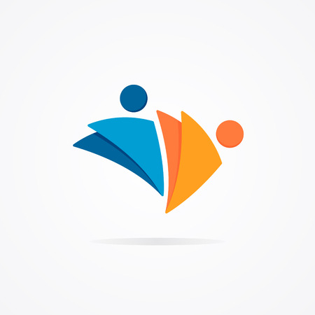 Vector design element with business card template.