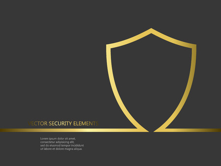 Vector security elements for postcards or other designs