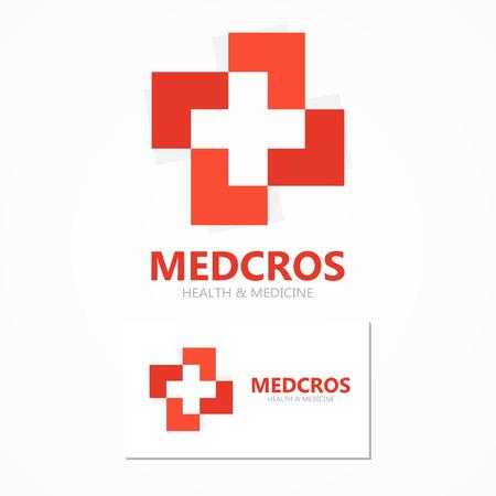 Logo Vector elemento de diseño con tarjeta de plantilla.