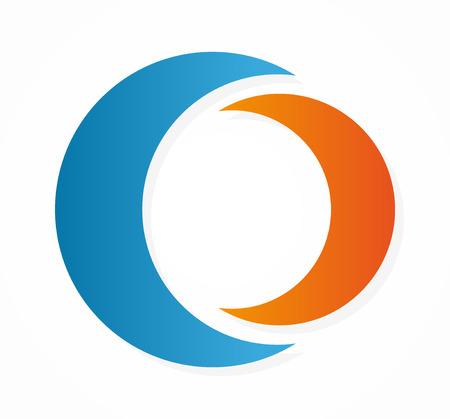 mond: Vector Logo oder Icon Design-Element für Unternehmen