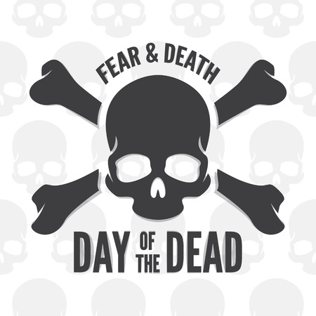 the dead: Inspirational and motivational quotes vector poster design