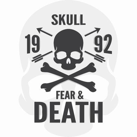 fear illustration: Vector or icon design element for companies Illustration