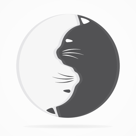 cat: Vector  or icon design element for companies
