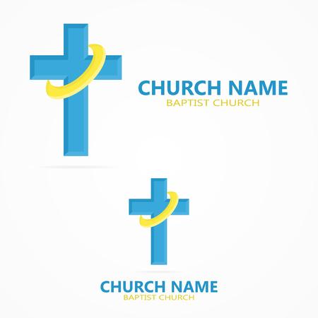 christian faith: Vector or icon design element for companies Illustration
