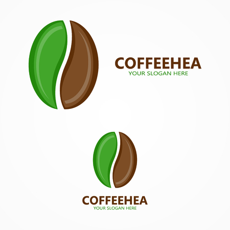 green brown: Vector or icon design element for companies Illustration