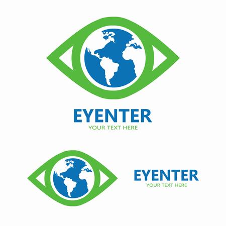 yeux: Vector ic�ne ou �l�ment de conception pour les entreprises