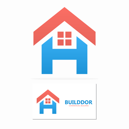 h: Vector logo or icon design element for companies