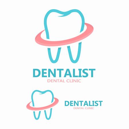 dental health: Vector logo or icon design element for companies