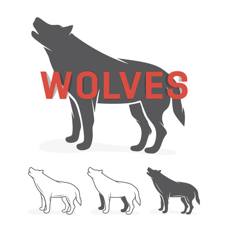 howl: Vector logo or icon design element for companies