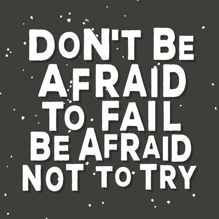 citas de inspiración y de motivación diseño del cartel