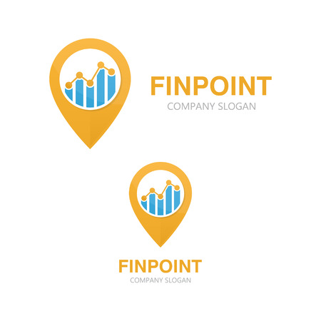brand position: Vector or icon design element for companies Illustration