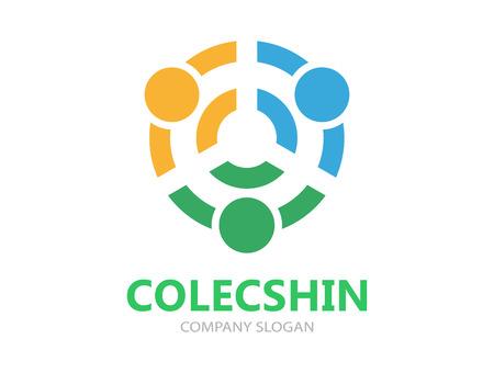 Vector Logo oder Icon Design-Element für Unternehmen