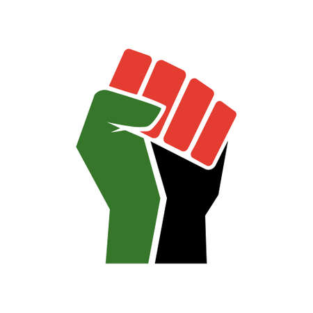 Raised fist symbol, Black Lives Matter