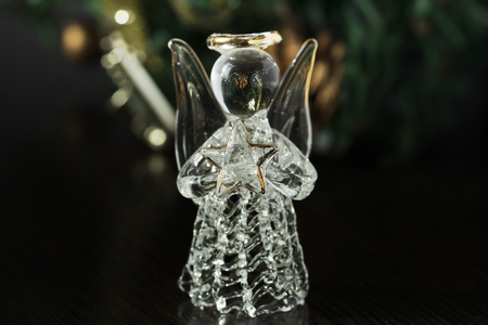Genial Crystal Angel. New Year Decoration. Christmas Ornaments, Christmas  Decoration Photo