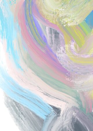 The pastel soft Art nice Color splashes.Surface design banners. Gradient background is blurry