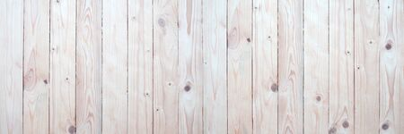 Panorama wood wall with beautiful vintage brown wooden texture background