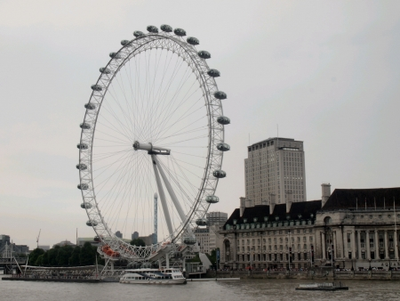 eye: London Eye England  Stock Photo