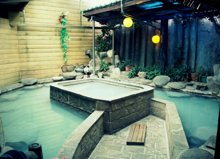 Ooutdoor Private Hot Spring Room in BeiTou Taipei Taiwan