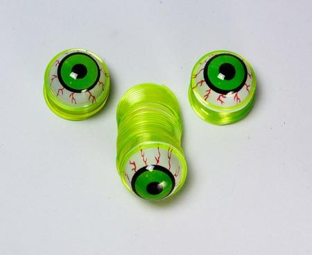 globo ocular: globo ocular divertido para el d�a de Halloween. Foto de archivo
