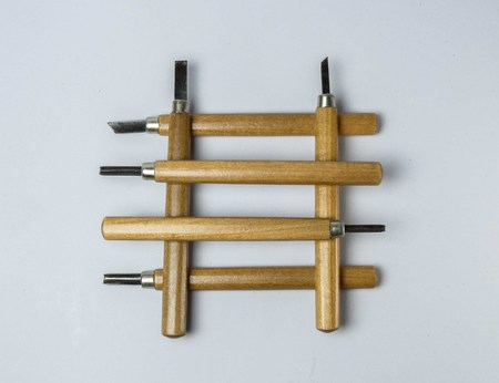 carver: The carver tools made by wood.