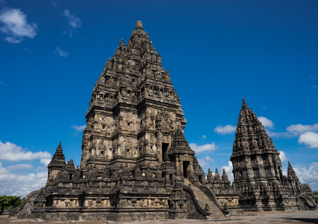 the biggest ruined Hindu temple in Indonisia