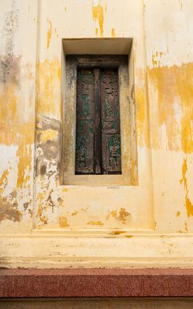 a very beautiful door frame made by hard wood Stok Fotoğraf