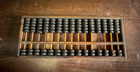 the very old calculator called abacus