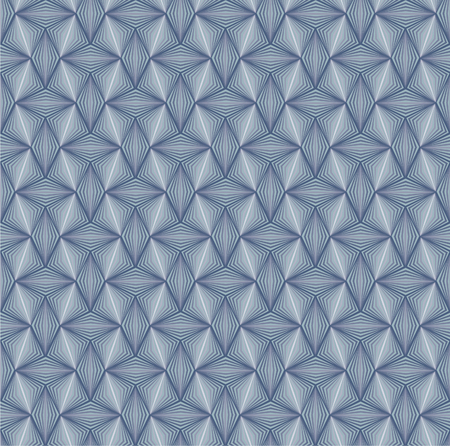 Seamless decorative pattern in a printing style from the 1800- century called excentrics