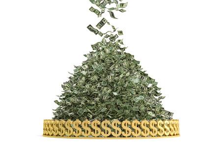 a lot of: Money Rain - Pile of Cash
