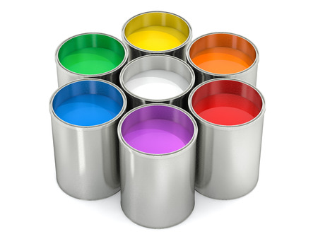Paint Buckets - Colorwheel