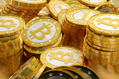 gold mining: Bitcoins