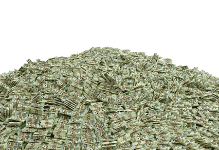 pile of papers: Pile of Cash - Dollars