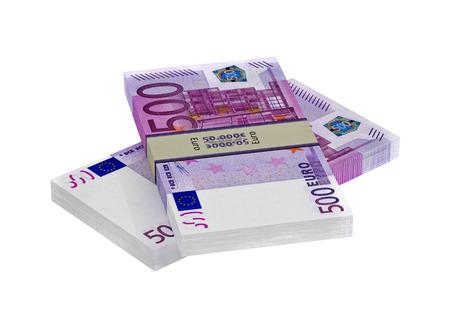 counterfeiting: 500 Euro Banknotes