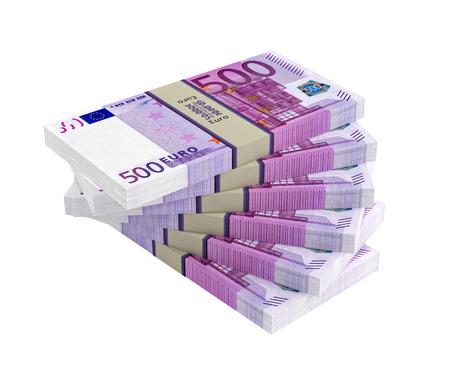 500 ユーロ紙幣 写真素材