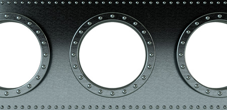 armour plating: ship portholes - insert your own image