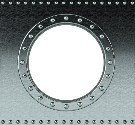 armour plating: ship porthole - insert your own image